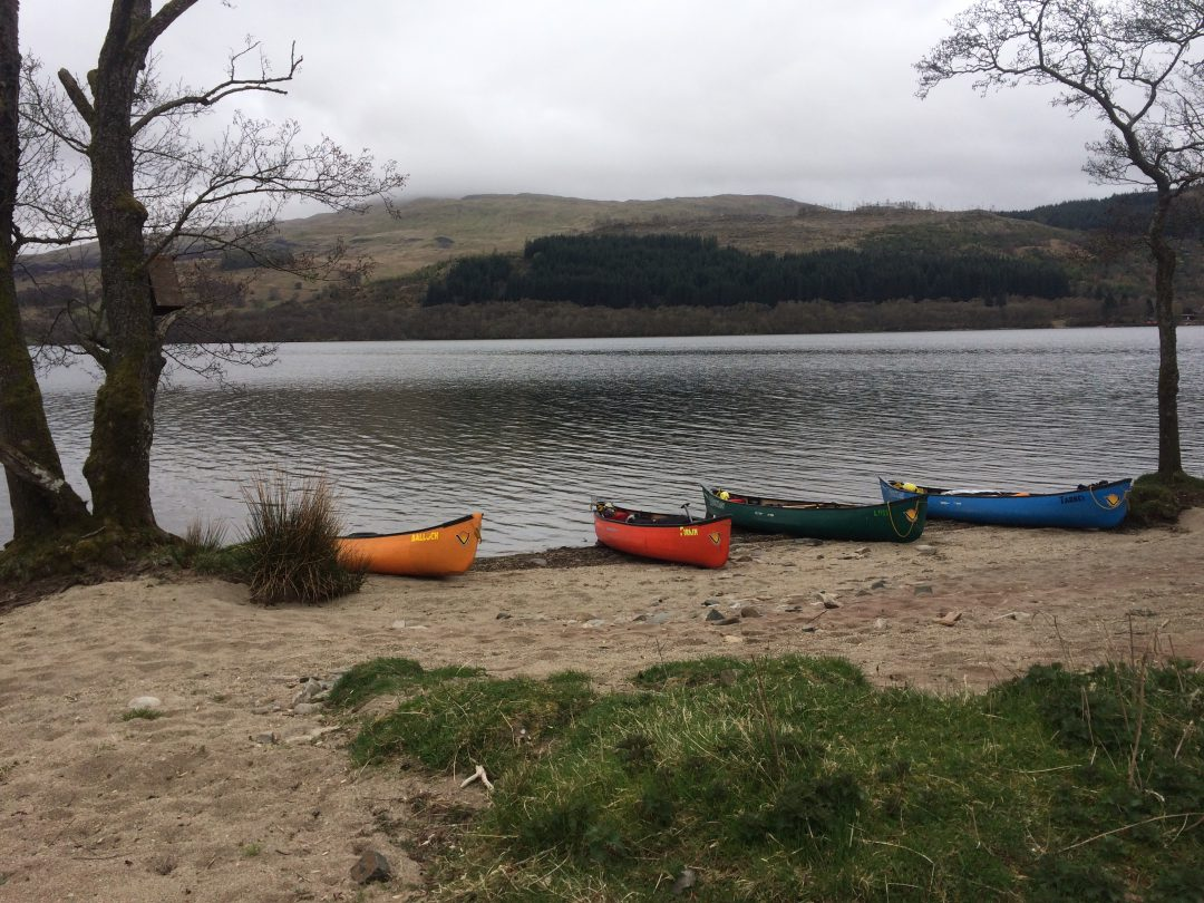 Silver DofE Practice weekend with Craigholme School and The Adventure Academy CIC – Loch Tay, Scotland.  March 2017