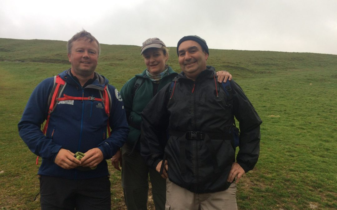 Yorkshire Three Peaks, 13 May 2017