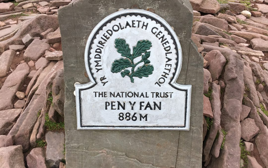 Where to go hill walking in Wales?  Pen-y-Fan, Brecon Beacons