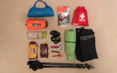 My ultimate rucksack kit for a day walk in the UK