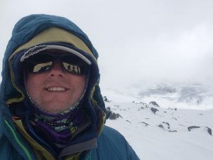 Michael Goude from RockRiver Expeditions on Mt Elbrus