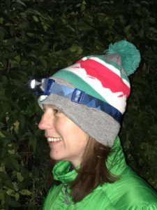 Viper 2 Headtorch from Alpkit worn by Paula Goude from RockRiver Expeditions