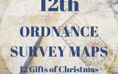 The 12 Gifts of Christmas: 12th – Ordnance Survey Maps