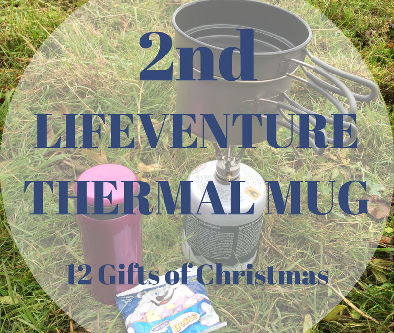 The 12 Gifts of Christmas: 2nd – The Lifeventure Thermal Mug