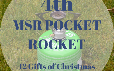 The 12 Gifts of Christmas: 4th – The MSR Pocket Rocket