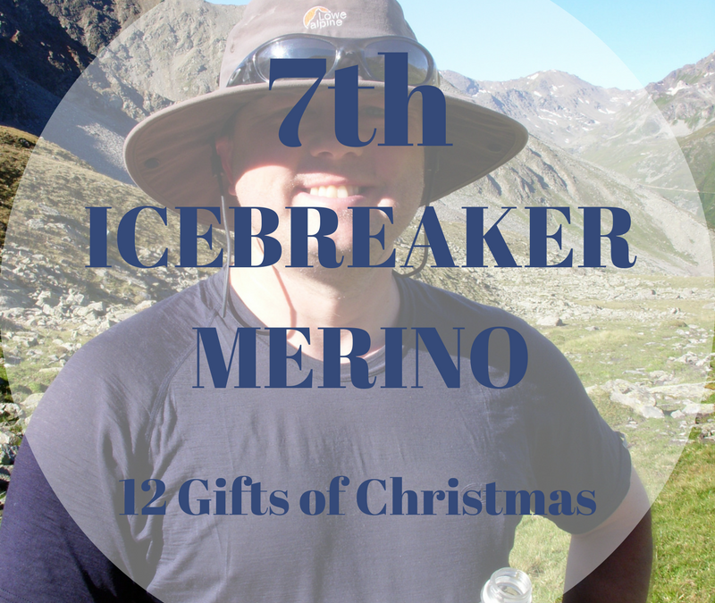 The 12 Gifts of Christmas: 7th – Icebreaker Merino Tshirts