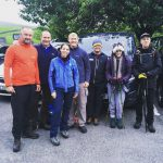 RockRiver Expeditions clients at the start of the Yorkshire Three Peaks