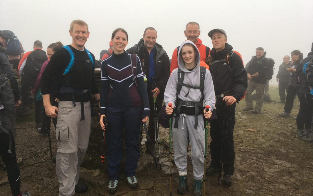 Yorkshire Three Peaks, 8 September 2018