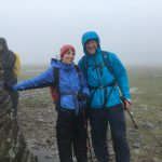 RockRiver Expeditions clients make it to the summit of Ingleborough on their Yorkshire Three Peaks challenge
