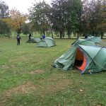 Wet campsite day 2 bronze DofE qualifier expedition