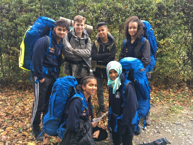 Bronze DofE qualifier expedition – Crownhills Community College & Army Cadets from Leicester, Sept 2018