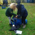 Packing the rucksack together bronze dofe