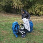 Checking the rucksack bronze DofE