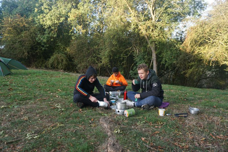 DofE breakfast