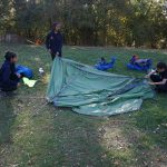 Setting up camp day 1 bronze dofe exped