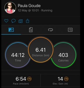 4four24 fifth run of six in a 24 hour Adventure by Paula Goude recorded on Garmin Fenix 5s