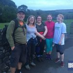 Relief as the Snappy Yorkshire Three Peaks team complete their challenge with RockRiver Expeditions