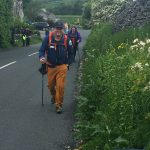 Michael Goude of RockRiver Expeditions heads towards checkpoint two on the Snappy Charity Yorkshire Three Peaks Challenge event