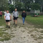 Members of the Snappy Yorkshire Three Peaks Challenge team complete their goal