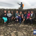 The Snappy Yorkshire 3 Peaks team are photobombed on Ingleborough