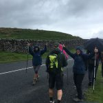 The Snappy Yorkshire 3 Peaks team head off from checkpoint one to tackle Whernside