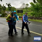 Setting off from Horton in Ribblesdale to tackle the Yorkshire Three Peaks with RockRiver Expeditions