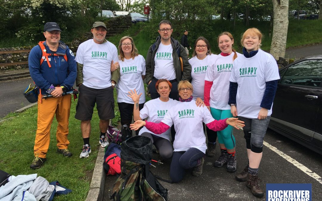 Snappy Yorkshire Three Peaks Challenge, June 2019