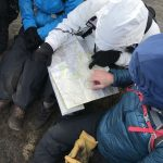 Map reading lesson